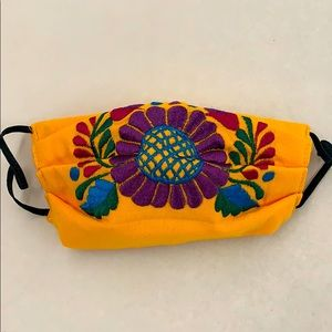 Handmade Embroidery Face Mask!
